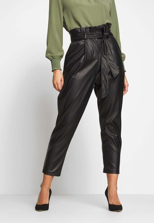 TROUSER - Pantaloni - black