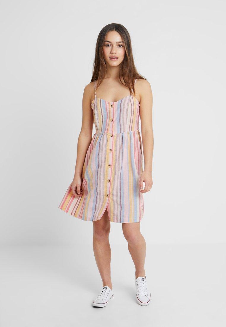 New Look Petite - PASTEL STRIPE MIDI - Shirt dress - multi-coloured