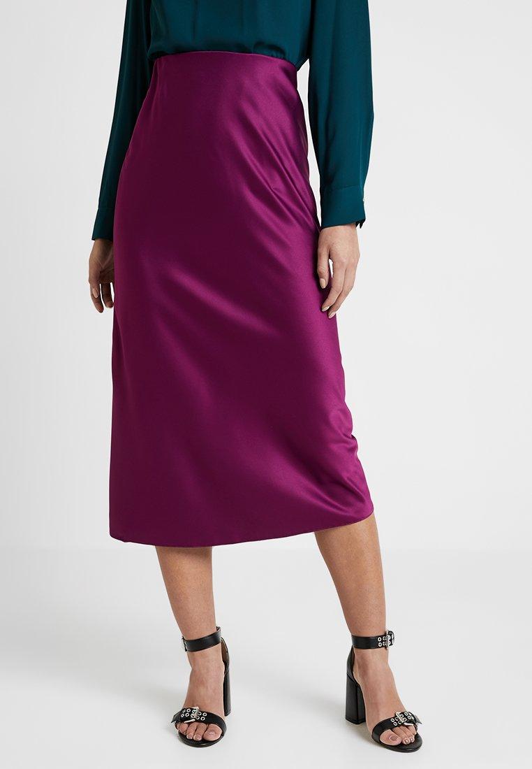 New Look Petite - BIAS SKIRT - A-line skirt - plum