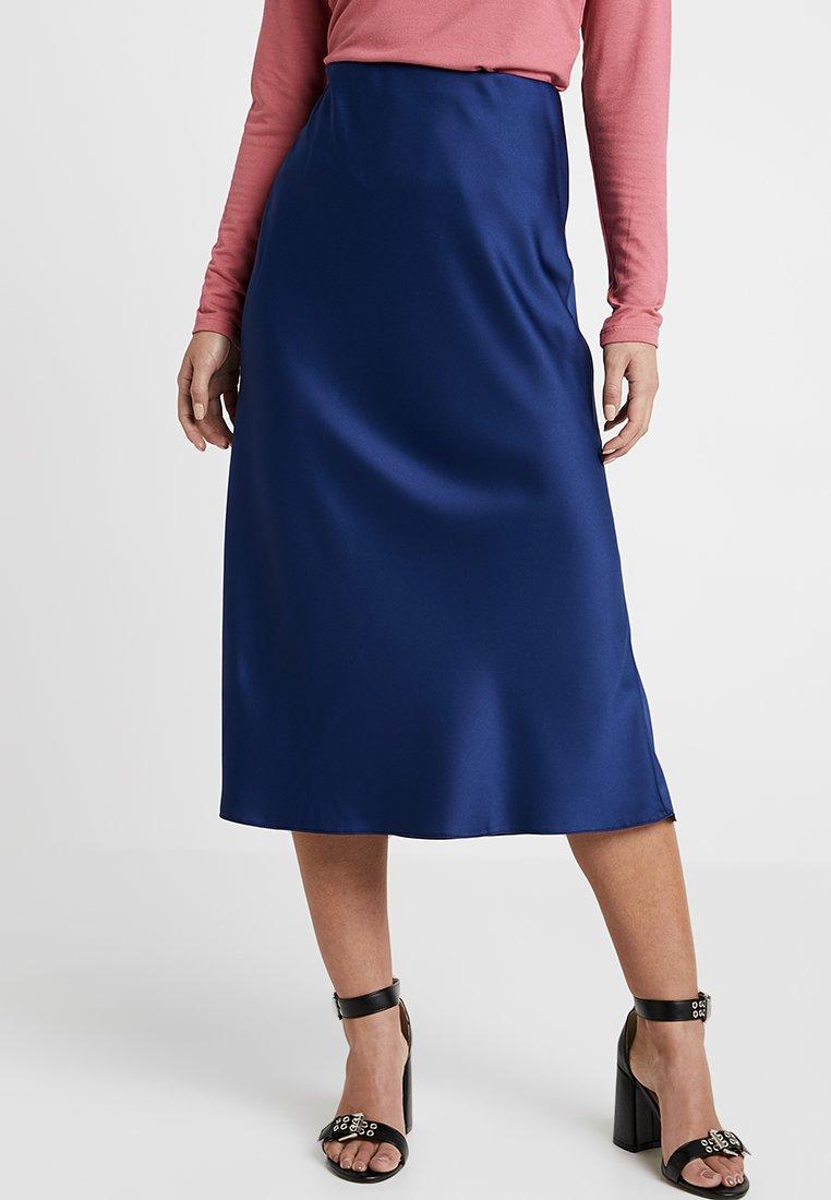 New Look Petite - BIAS SKIRT - A-snit nederdel/ A-formede nederdele - navy