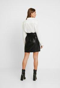 New Look Petite - SKIRT - Minirock - black - 2