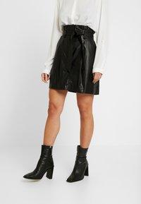 New Look Petite - SKIRT - Minigonna - black - 0