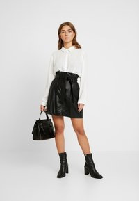 New Look Petite - SKIRT - Minigonna - black - 1