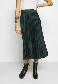 New Look Petite - PLEAT MID SKIRT - A-lijn rok - green - 0