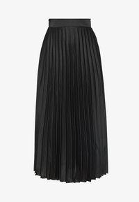 New Look Petite - PLEAT MID SKIRT - A-line skirt - black - 3