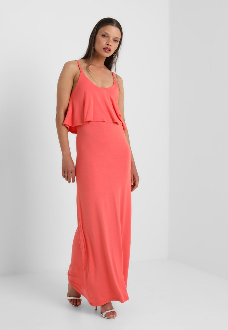New Look Petite - DOUBLE LAYER - Maxi dress - bright pink