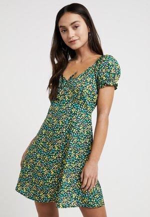 SWEETHEART NECK LINE MINI - Denní šaty - multi
