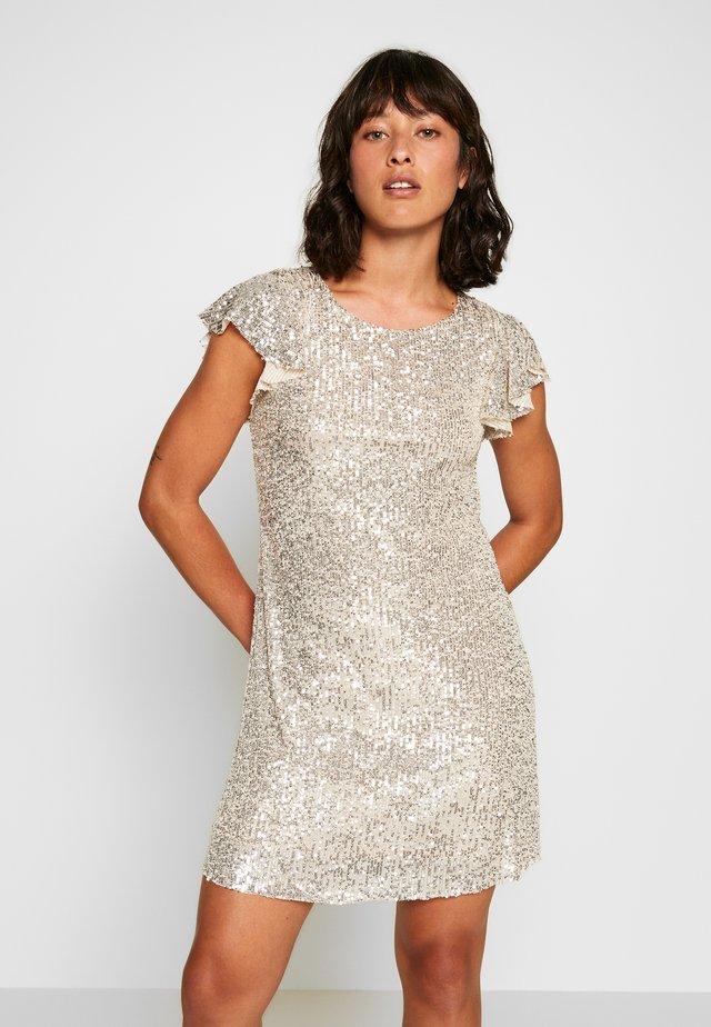 FLUTTER DRESS - Cocktailkleid/festliches Kleid - gold