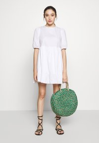 New Look Petite - SMOCK DRESS - Day dress - white - 1