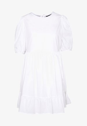 SMOCK DRESS - Kjole - white