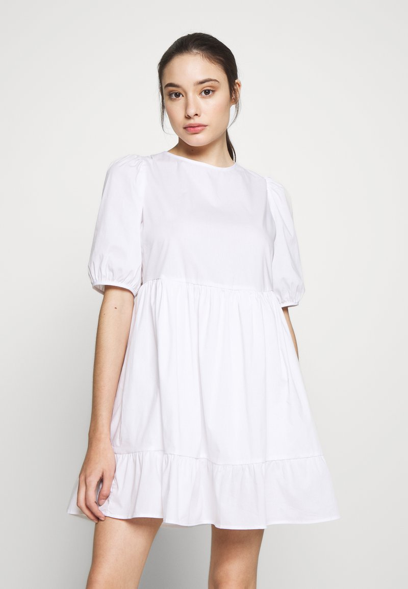 New Look Petite - SMOCK DRESS - Day dress - white