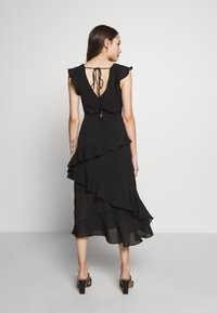 New Look Petite - YORU FRONT FRILL MIDI - Cocktail dress / Party dress - black - 2