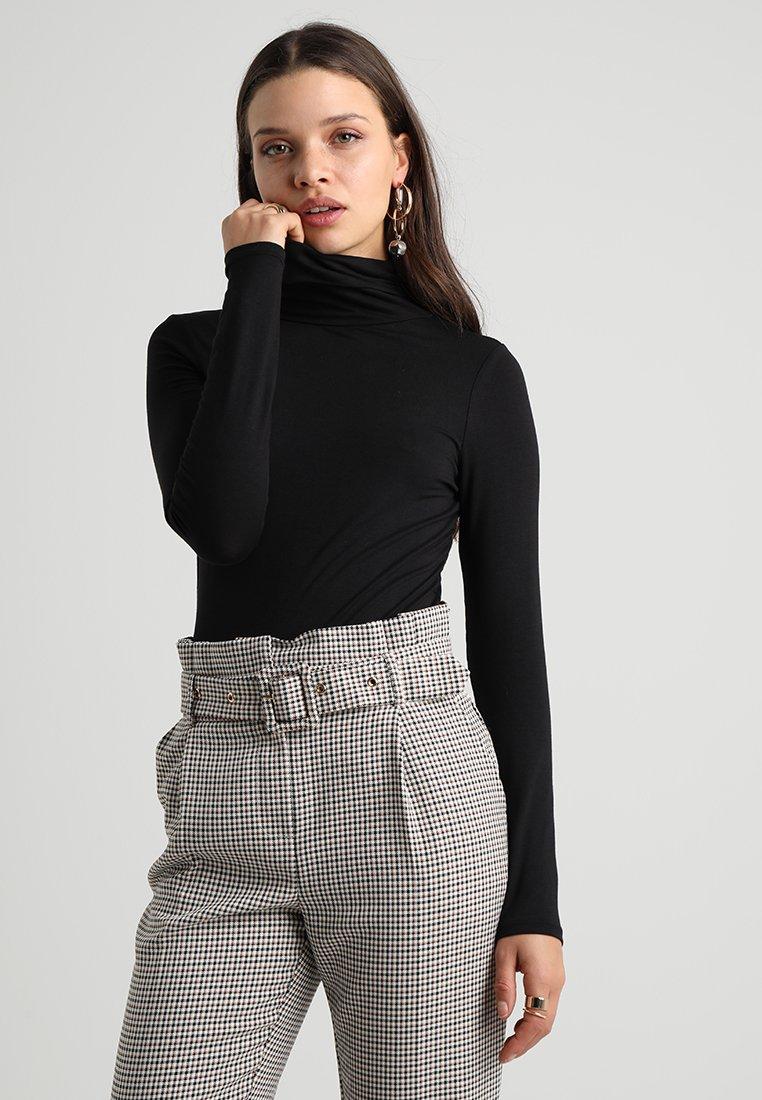 New Look Petite - ROLL NECK 2 PACK - Long sleeved top - black