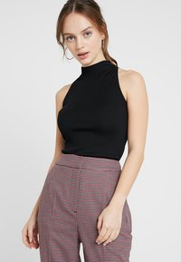 New Look Petite - HIGH NECK BODY 2 PACK - Top - black - 1
