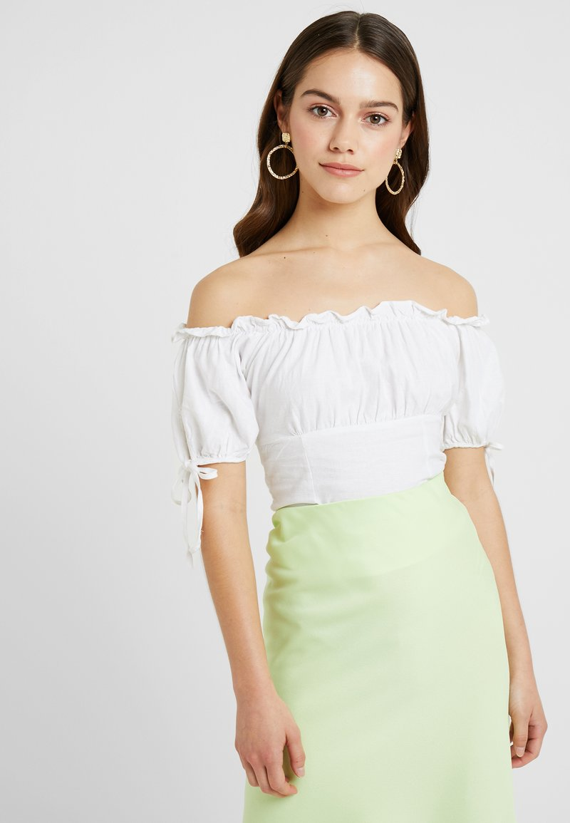 New Look Petite - NICOLA BARDOT - Bluser - white