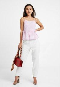 New Look Petite - LINA PLAIN HIGH NECK CAMI - Blus - bright pink - 1