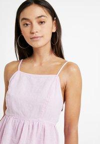 New Look Petite - LINA PLAIN HIGH NECK CAMI - Blus - bright pink - 3