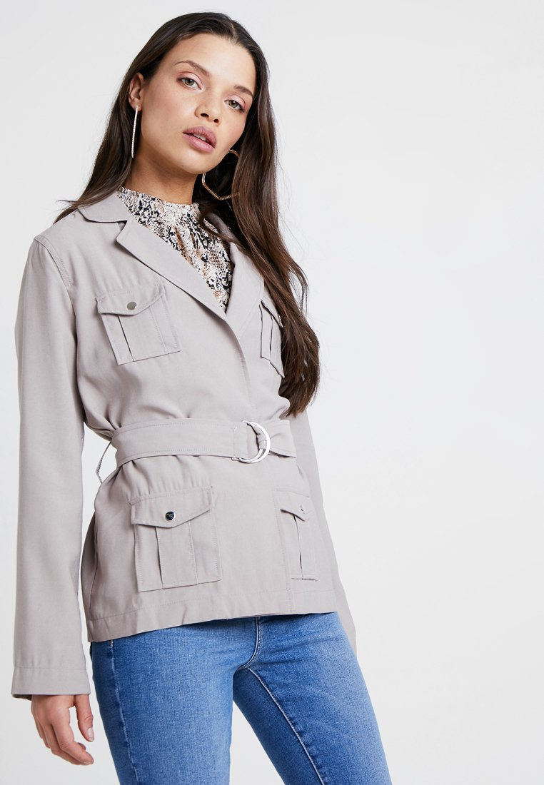New Look Petite - SAFARI BELTED JACKET - Summer jacket - sand