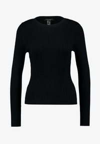 New Look Petite - CREW VARIGATED  - Strikkegenser - black - 3