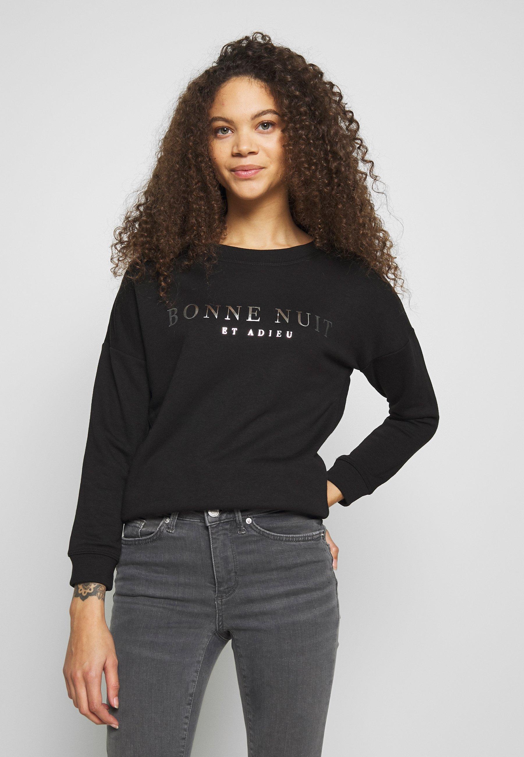 New Look Petite BON FOIL - Sweatshirt - black