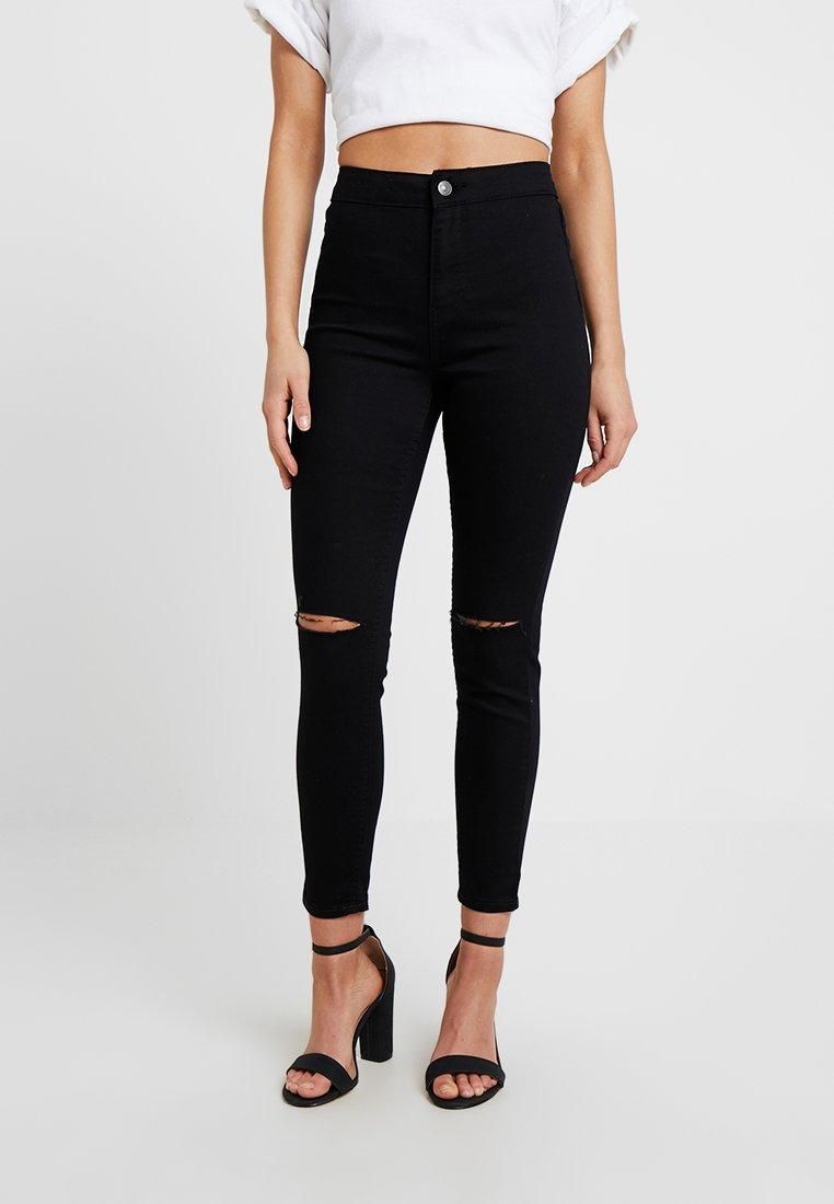 New Look Petite - STRATFORD SLASH DISCO - Jeans Skinny Fit - black