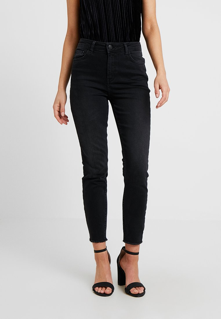 New Look Petite - RISE SHAPER - Jeans Skinny Fit - black