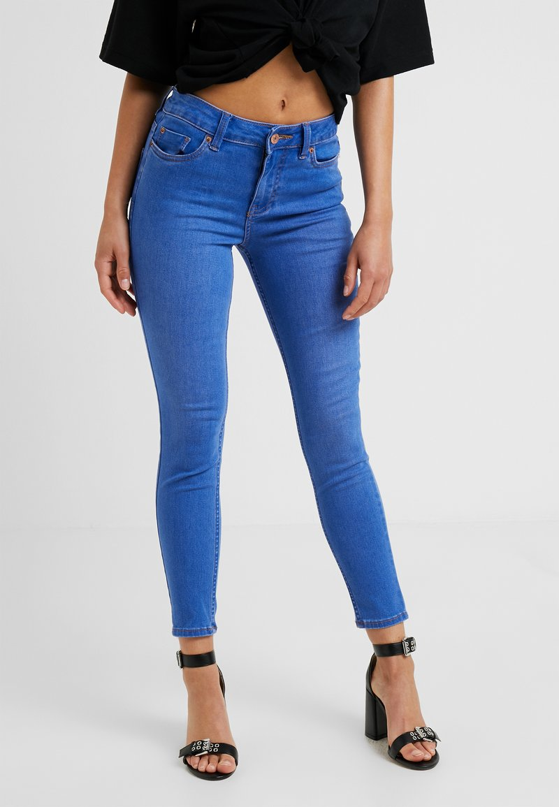 New Look Petite - SUPER SOFT - Jeans Skinny Fit - blue