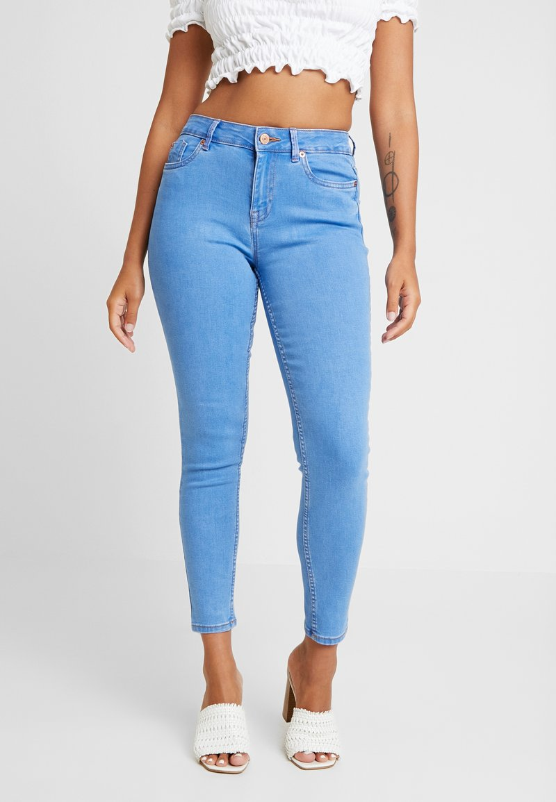 New Look Petite - SUPERSOFT - Jeansy Skinny Fit - blue