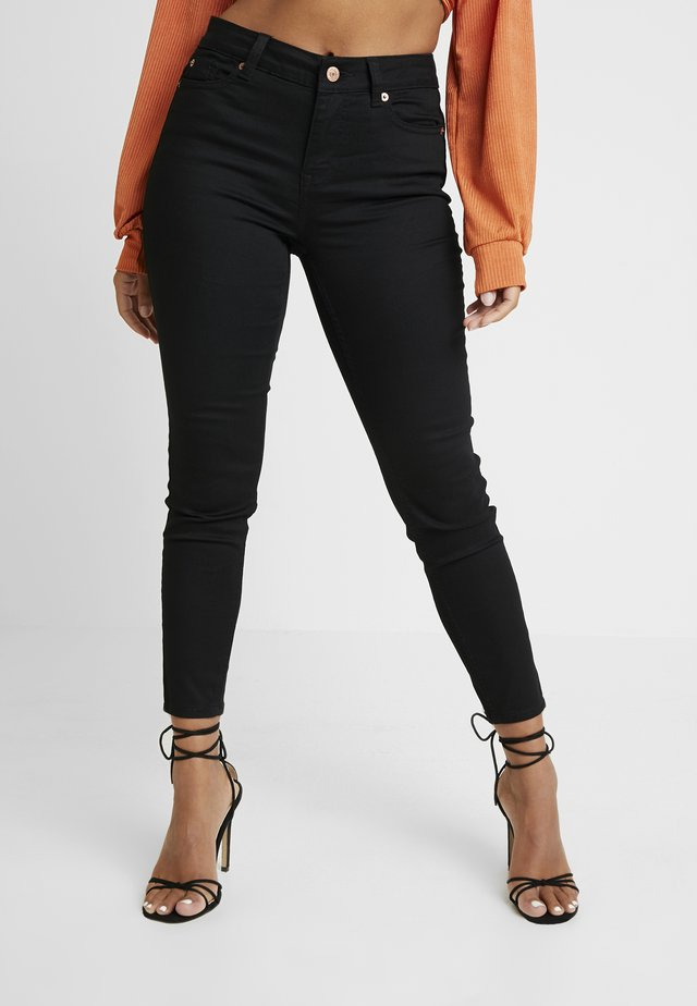 SUPERSOFT - Jeansy Skinny Fit - black
