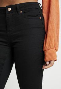 New Look Petite - SUPERSOFT - Jeans Skinny - black - 5
