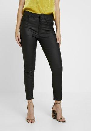 COATED SHAPER - Jeans Skinny Fit - black