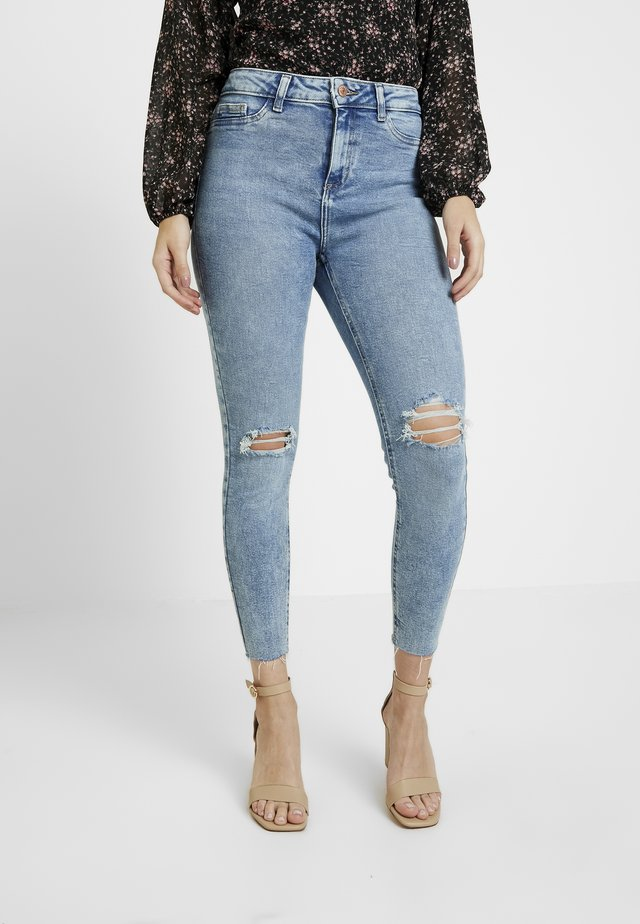BUSTED KNEE DISCO BELLE - Jeans Skinny Fit - blue