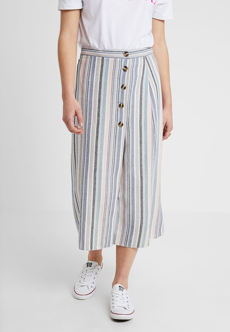 New Look Petite - WILLIAM STRIPE  - Wrap skirt - pink