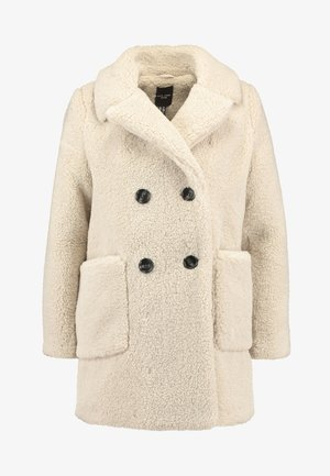 LEAD IN BORG COAT - Cappotto invernale - cream