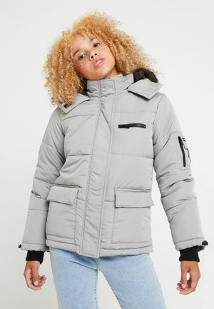 SKI PUFFER - Winterjas - light grey