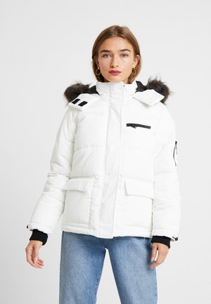 SKI PUFFER - Zimní bunda - light grey
