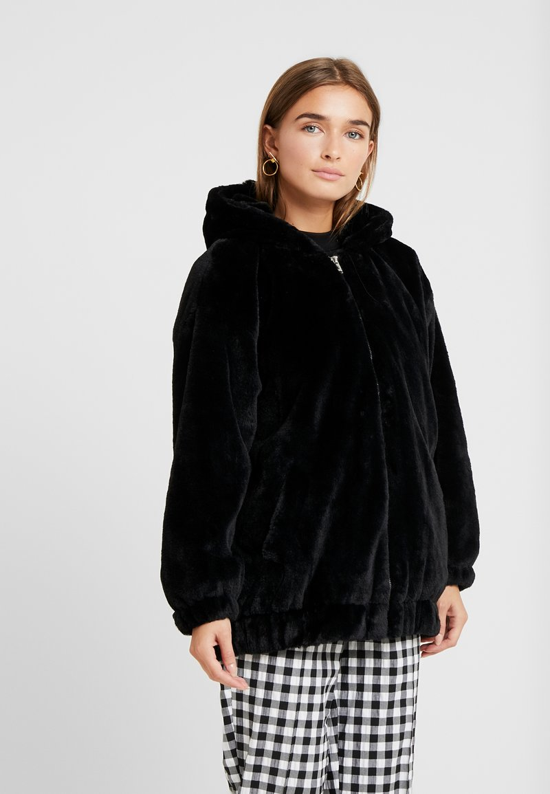 New Look Petite - FRANKIE HOODED - Giacca invernale - black