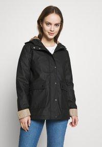 New Look Petite - AMERIIE RAIN - Impermeabile - black - 0