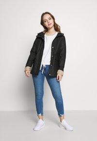 New Look Petite - AMERIIE RAIN - Impermeabile - black - 1
