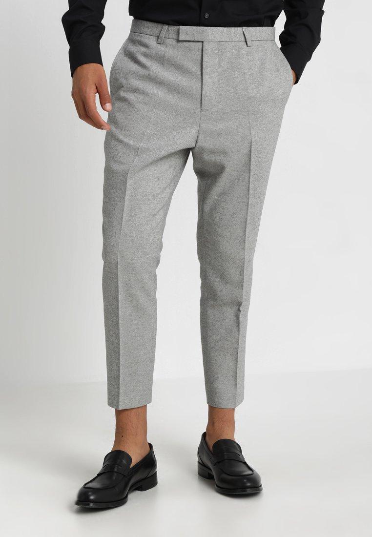 Twisted Tailor - MORECAMBE TROUSERS - Jakkesæt bukser - pale grey
