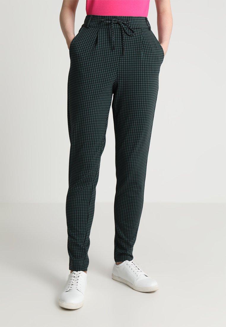 Noisy May NMPOWER ELIN PANT - Pantalon classique mallard green/black