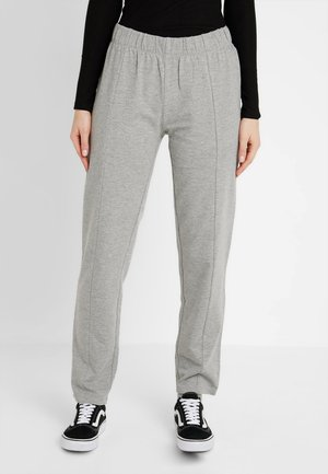NMSUKI PANTS - Tracksuit bottoms - light grey melange