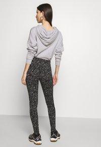 Noisy May - NMANILLA - Leggings - Trousers - black/white - 2