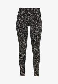 Noisy May - NMANILLA - Leggings - Trousers - black/white - 3