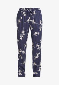 Noisy May - NMMAGIC VISCOSE PANTS  - Trousers - ombre blue/flowers - 3
