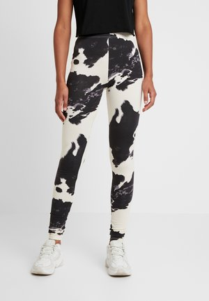 NMCOWE - Leggings - Trousers - ecru/black