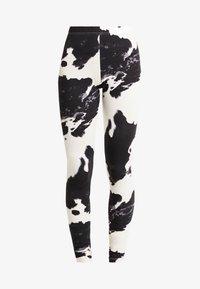 Noisy May - NMCOWE - Leggings - Trousers - ecru/black - 3