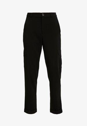 NMDARCHY CARGO PANT - Spodnie materiałowe - black