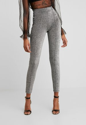 NMRAMONE  - Leggings - Trousers - black/silver