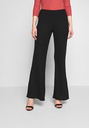 NMSLOAN PANT - Kalhoty - black